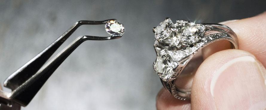 Gemstone Remounting