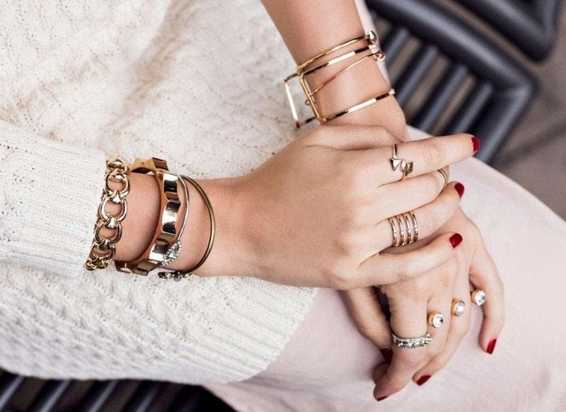 Stacked Bracelets Trending for 2017
